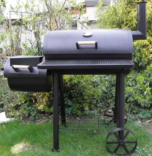 Grill Smoker Combo