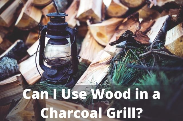 Can I Use Wood in a Charcoal Grill_