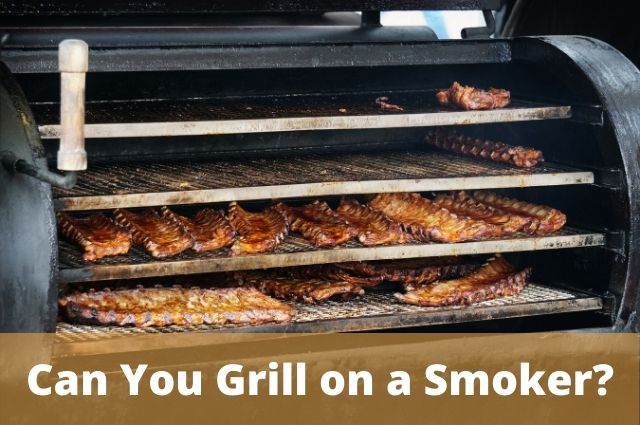 Can You Grill on a Smoker_