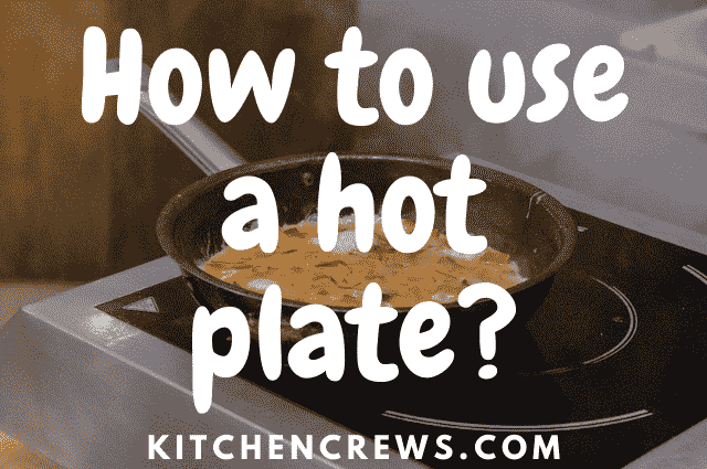 How to clean hot plate